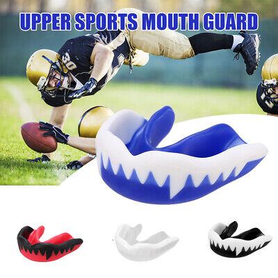 1x Kids//Adults Boxing Mouth Guard Taekwondo MMA Teeth Protector Mouthpiece US