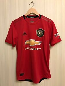 AUTHENTIC-Manchester-United-2019-2020-Home-Size-S-Adidas-shirt-jersey-soccer
