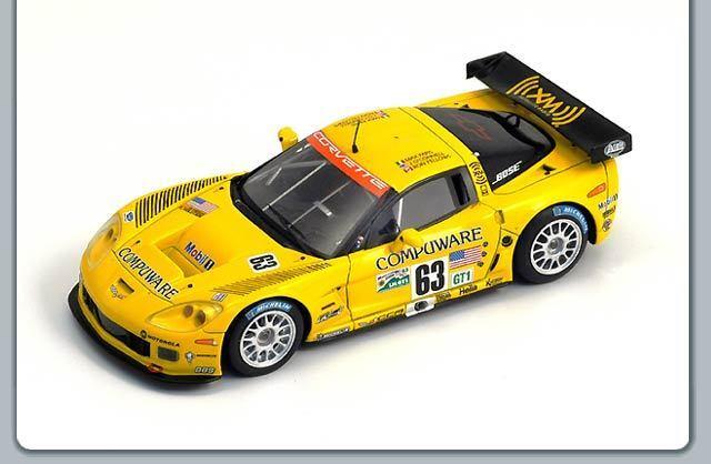 1/43 Corvette C6-R Corvette RACING LE MANS 24 ore 2006  63