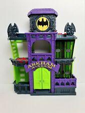 Imaginext FDX24 DC Super Friends Arkham Asylum Playset Brand New Fast Postage