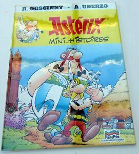 ASTERIX-MINI-HISTOIRES-GOSCINNY-UDERZO-PRESTO-PRINT-INEDIT-1987-RARE