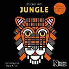 Sticker Art Jungle by Natural History Museum (Paperback, 2017)
