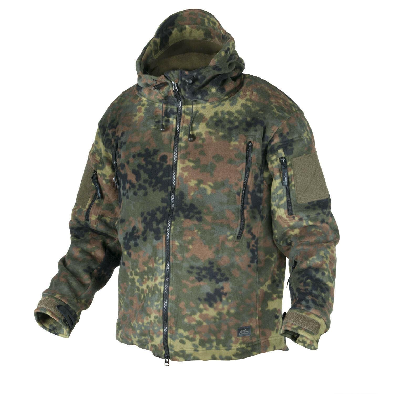 HELIKON tex patriota  Fleece Al aire libre capucha chaqueta Bundeswehr BW camuflaje talla L  compra limitada