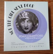 Not The Girl Next Door Joan Crawford Biography CD Set NEW SEALED