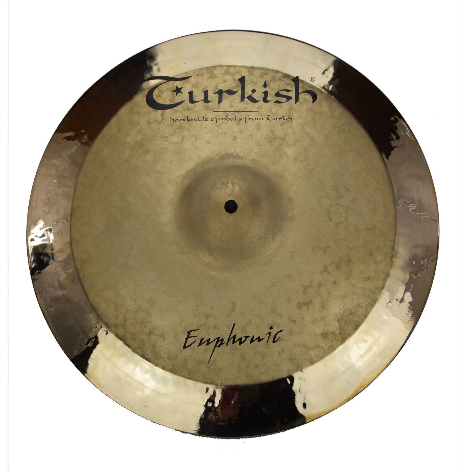 TURKISH CYMBALS cymbale Euphonic Rock 17  Crash 1134g