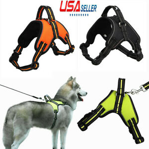 US-No-Pull-Adjustable-Dog-Vest-Harness-Quality-Oxford-Fit-Small-Medium-Large-Dog