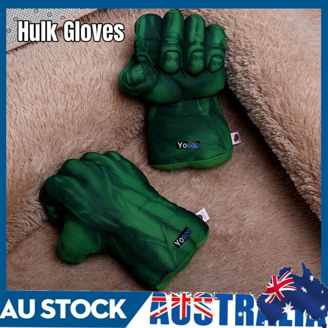 1 Pair Cosplay Hulk Gloves Smash Hands Boxing Fists Punching Children Xmas Gift