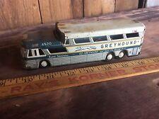Vintage Tin Friction Greyhound Super Scenic Cruiser 4520