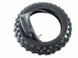 HMParts-Dirt-Bike-Pit-Bike-Mini-Cross-Reifen-2-50-10-Cross-mit-Schlauch