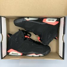 wholesale dealer dfda0 34e7a item 3 Nike Air Jordan Retro VI Black Infrared 23 Size 4y 384665 023 DB CDP  XI XII VII -Nike Air Jordan Retro VI Black Infrared 23 Size 4y 384665 023  DB CDP ...