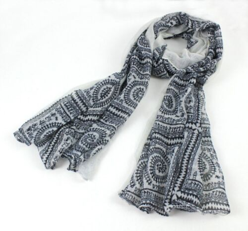 Ladies New Spring Summer Printed Stylish Gorgeous Light Thin Scarf Scarves