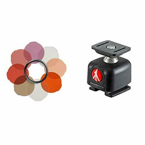 Manfrotto LUMIMUSE Accessory Portrait Filter Kit & MLBALL LUMIMUSE Accessory ...