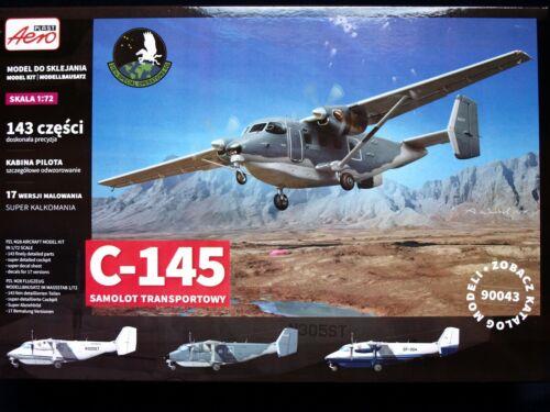 SIKORSKY//PZL C-145 SKYTRUCK USAF SPECIAL OP. UNITS MKGS 1//72 AEROPLAST90043