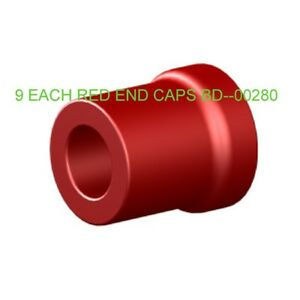 TROJAN-HYDROLINK-WATERING-SYSTEM-SPARE-RED-END-CAPS-210023-9-EACH
