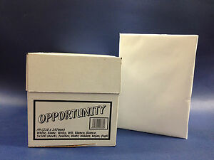1 REAM  OR 1 2 5 10 BOXES OF A4 75 GSM WHITE COPIER PAPER AS GOOD AS 80 GSM