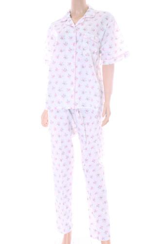 Womens Poly Cotton Short Sleeve Pyjamas  PJ/'S avail up to Plus Size  10-30