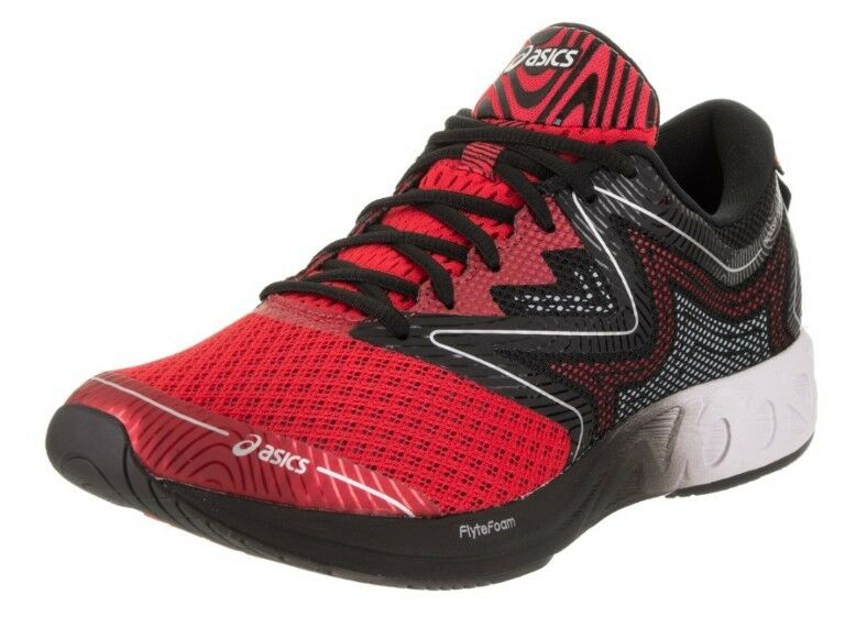 NEW Men's, (CHOOSE SIZE) ASICS Noosa FF  Running Shoes T722N-2301 RED/WHT/BLK