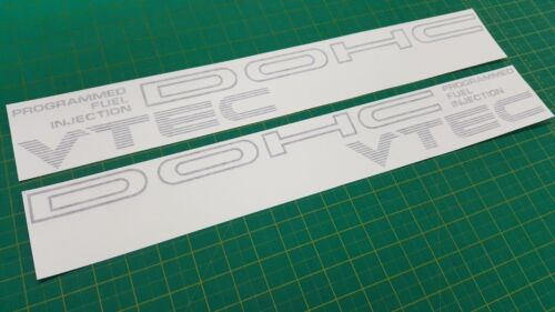 civic crx EF8 EF9 DOHC Vtec b16a zc d15b side Decals Stickers siR JDM 1988-91