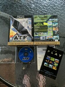 A.T.F. Advanced Tactical Fighters PC Big Box Windows 95/MS-DOS