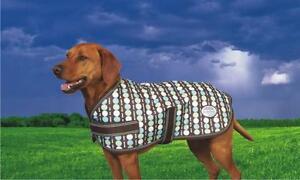 SALE-Weatherbeeta-Landa-Dog-Rug-Coat-Blue-Earth-Spots-Waterproof