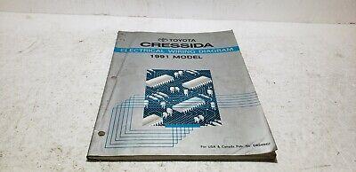 1991 Toyota Cressida Dealer Service Electronic Wiring ...