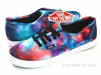 Vans Authentic Lo Pro Galaxy Nebula Cosmic Shoe Womens All Size