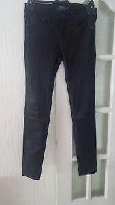 Bnwt Rrp £ Skinny Lauren 12 Nous Pantalon En Polo Véritable Uk 850 Cuir Ralph Taille 8 pqrfCp