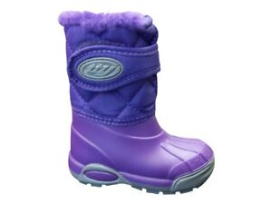 BabyBotte Xtreme Purple Snow Boot with Strap Various Sizes