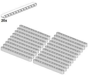Technic Liftarms Schwarz Black 1x13 LEGO® 41239-04 - Balken 20Stk