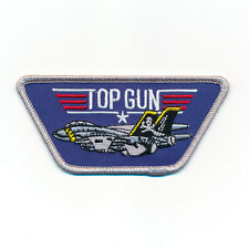 TOP GUN Navy Fighter USA Weapons School Top Gun Patch Aufnäher Aufbügler 0524