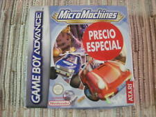 GAMEBOY ADVANCE/NINTENDO DS MICROMACHINES MICRO MACHINES PAL ESPAÑA BUEN ESTADO