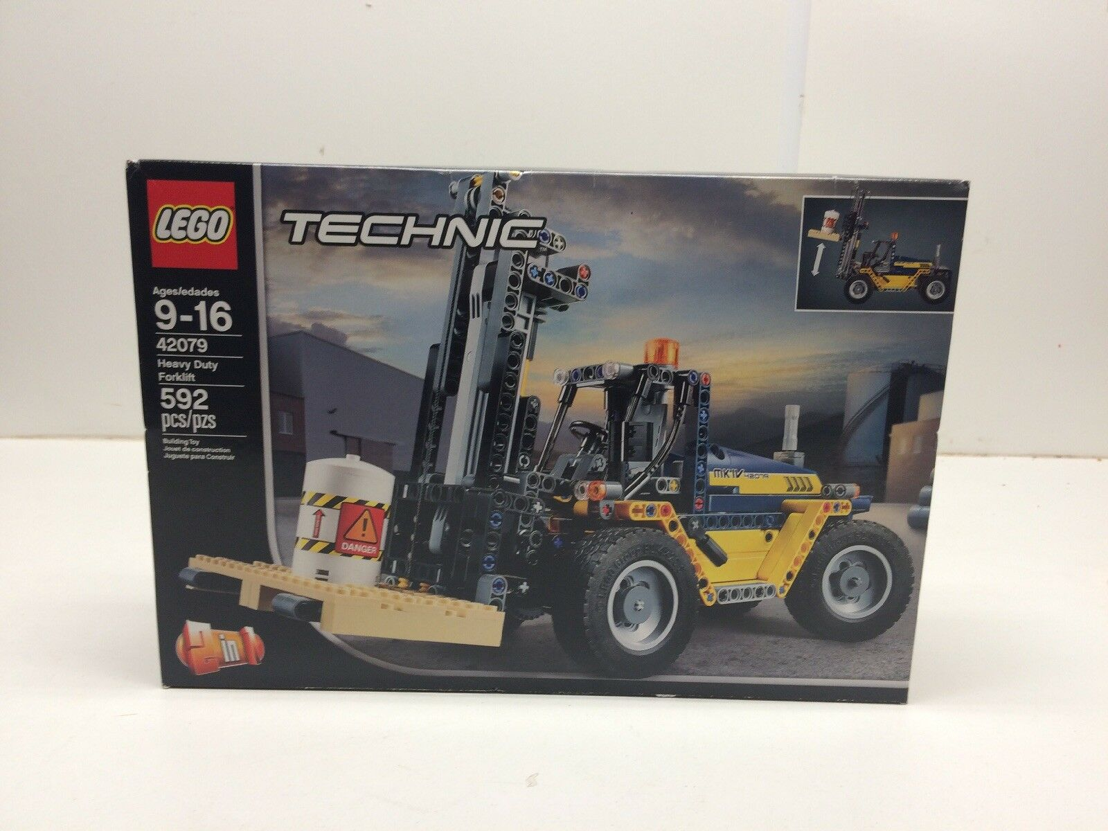 nuovo LEGO Technic 42079 Heavy Duty Forklift NISB Sealed   acquisti online