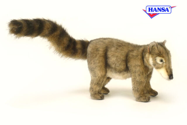 Hansa Toys Baby Coatimundi 4825 Handmade Plush Stuffed Animal Toy Gift Decor New