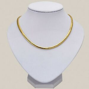 Men-039-s-Women-039-s-Necklace-Cool-24k-Yellow-Gold-Filled-24-034-Link-Fashion-Jewelry