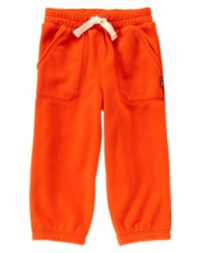 GYMBOREE HOLIDAY SHOP RED FLEECE PULL-UP PANTS 12 18 24 3T 4T NWT