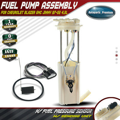 For Chevrolet Blazer 4.3L 2 Door Electric Fuel Pump GMC Jimmy E3954M 1997-2002