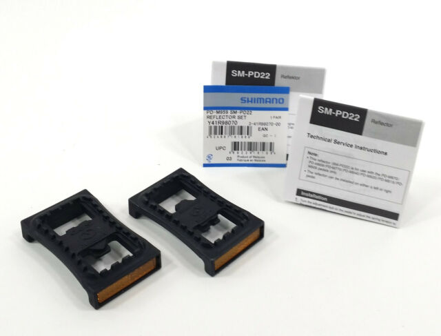 SM-PD22 pr Y41R98070 SHIMANO SPD platform+reflector set