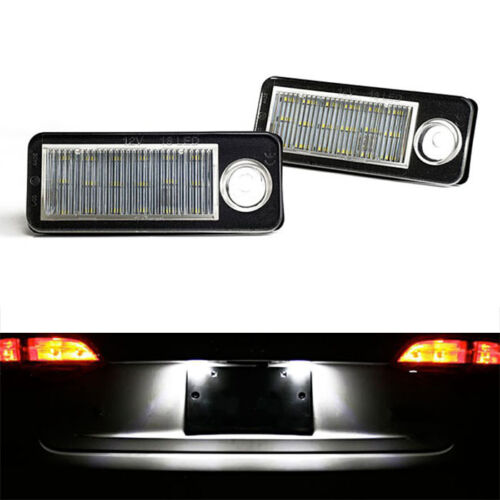 ECLAIRAGE PLAQUE AUDI A6 C5 1997-2004 AVANT 3.0 3.7 RS6 LED BLANC XENON