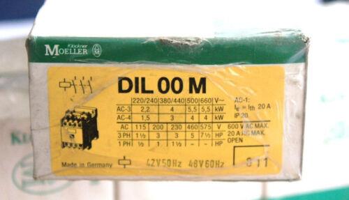Klöckner Moeller System Leistungsschütz DIL 00 M 42V 50 Hz