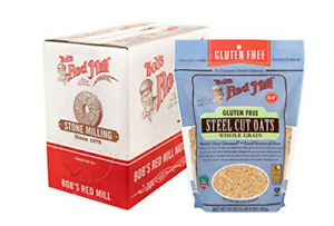 Bob's Red Mill Gluten Free Steel Cut Oats, 24 Ounce Pack ...
