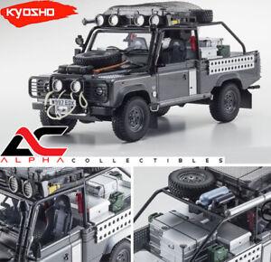 KYOSHO-KSR08902TR-1-18-LAND-ROVER-DEFENDER-GRAY-034-TOMB-RAIDER-034-MOVIE-EDITION