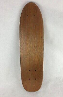 5  x Vintage Teak Oak Skateboard Cruiser Blank Deck 70/'s Old School Hole Pattern