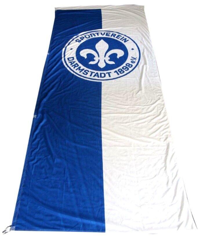 Hissflagge Fahne SV Darmstadt 98 Flagge - 120 x 300 cm  | Verpackungsvielfalt
