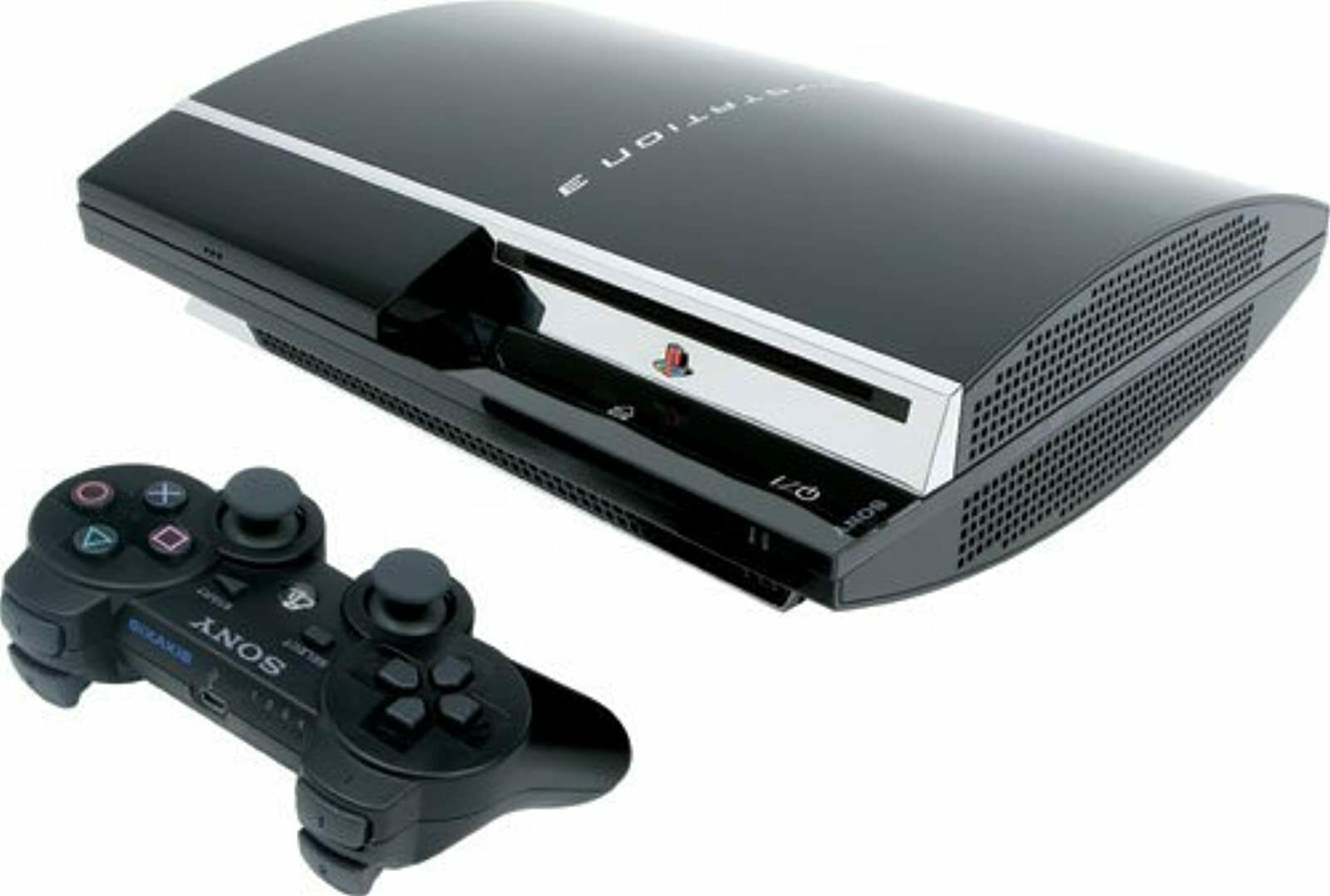 Sony PlayStation 3 80GB Game System Blu-Ray HDMI Console Video Game Systems Vide