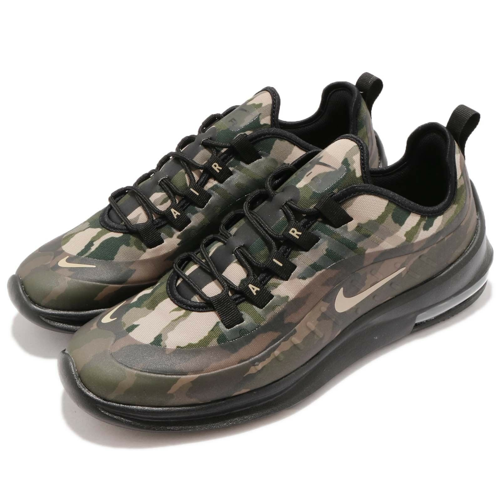 Nike Air Max Axis PREM Noir Mushroom Camo Men Running Chaussures Baskets AA2148-002