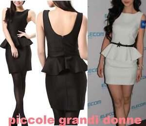 Mini-abito-donna-effetto-2-pezzi-vestitino-vestito-party-casual-formale-Cb005