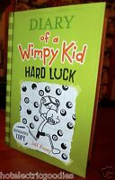 Autographed Diary Of A Wimpy Kid: Hard Luck Book 8 By Jeff Kinney Hc Signed