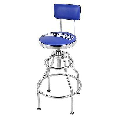 Tremendous Kobalt Adjustable Hydraulic Stool Mechanic Seat Chair Work Shop Garage Bench Sit 820909608127 Ebay Machost Co Dining Chair Design Ideas Machostcouk