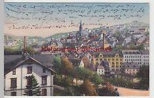 (106891) AK Buchholz, Erzgebirge, Ort mit Kirche 1919
