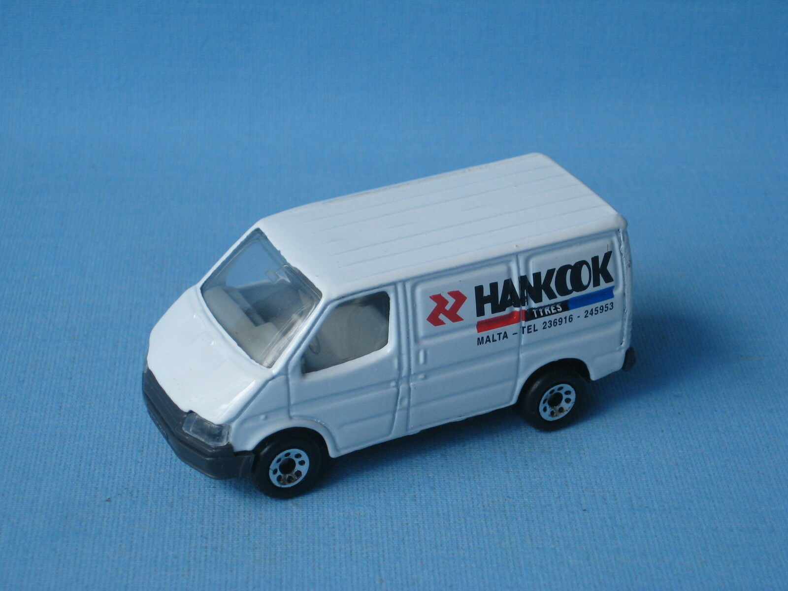 Matchbox Ford Ford Ford Transit Van Hankook Tyres Malta Promo Rare Toy Model Tires fa5878